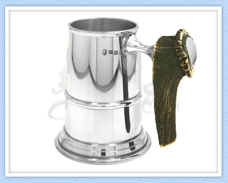 STAG004 - Stag Pewter Tankard
