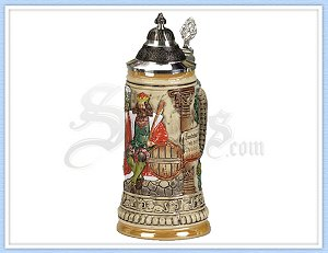3051 - Gambrinus Beer Stein