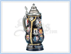 3209 - Germany Crest Beer Stein