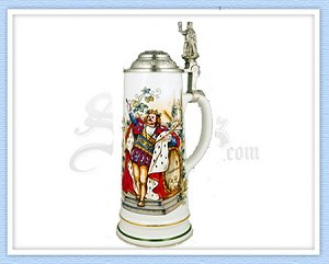6518 - Gambrinus Beer Stein