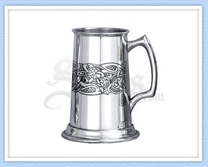 CEL201 - Glastonbury Pewter Tankard