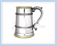 Celtic Bands Pewter Tankard