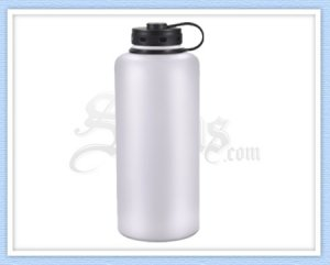 White Stainless Steel Growler