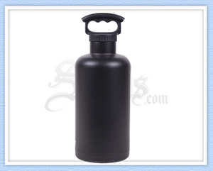 Black Stainless Steel Tank Growler
