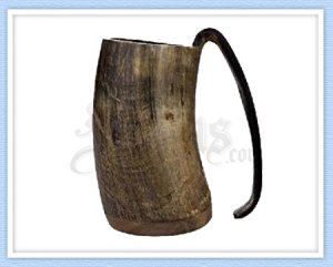 Drinking Tankard Made of Horn