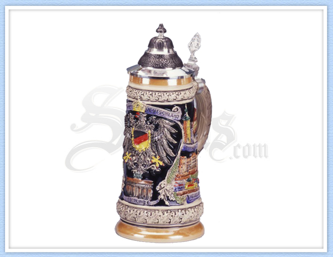 3050 - German Eagle Beer Stein