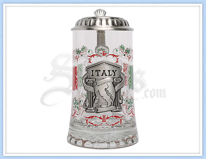 5966P - Personalized Italy Beer Stein