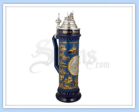 6391 - German Castles Beer Stein