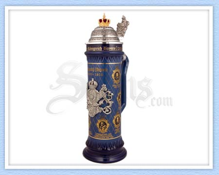 6397 - Bavarian Kings Beer Stein