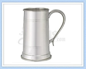 King's Pewter Tankard - 30 Oz
