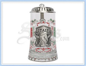 Personalized Italy Beer Stein