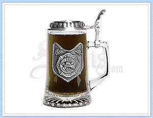 Fire Department Beer Stein