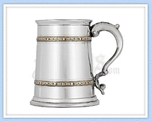 GIB01 - Double Celtic Band Tankard