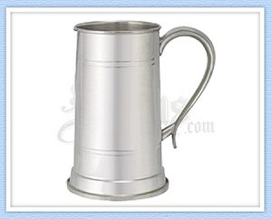 690-40 - King's Pewter Tankard - 40 Oz