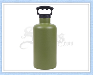 Green Stainless Steel Tank Growler